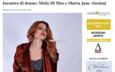 Fashion Forward – Incontro di donne: Metis Di Meo e Marta Jane Alesiani