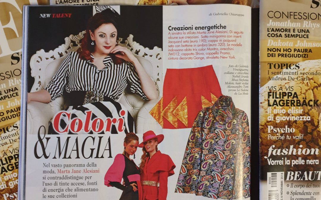 LEI Style: Marta Jane Alesiani, New Talent, Colori e Magia
