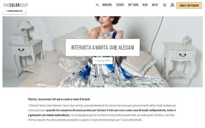 The Color Soup magazine: Intervista a Marta Jane Alesiani